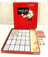 60's VINTAGE PO-KE-NO (POKENO) BOARD GAME~POKER-KENO - $5.93