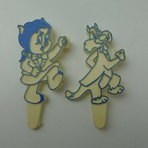 Vintage Looney Tunes Plastic Cake Toppers 1978 - $9.89