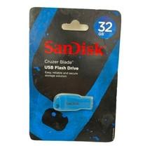 Sandisk 32GB Cruzer Blade USB Flash Drive Memory Stick USB Reliable Storage - $9.99