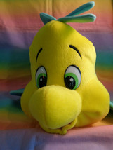 Disney On Ice Little Mermaid Princess Ariel's Fish Flounder Plush with T... - $19.75