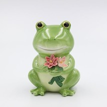"Cosmos Gifts 20912 Frog Piggy Bank, 5"" High, Green - $25.05"