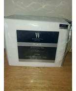 Wamsutta 625-Thread Count PimaCott KING Sheet Set SOLID White - $98.99