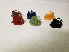 2008 Life Pirates Caribbean Dead Mans Chest Game Replacement Ships - $9.99