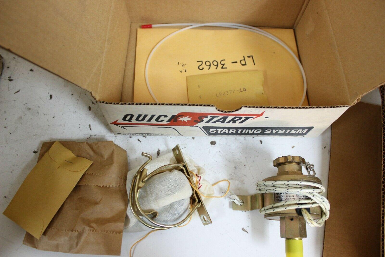 Turner Quick Start QS3285425 Hand Engine Starter Relay kit New