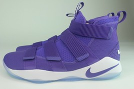"NIKE LEBRON SOLDIER XI 11 Size 18.0 ""PROMO"" PURPLE CASUAL SNEAKERS 94315... - $148.49"