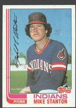 Cleveland Indians Mike Stanton 1982 Topps Baseball Card 473 nr mt - $0.45