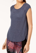 Calvin Klein Performance Cap-Sleeve Open-Side Top - $17.09