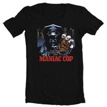 Maniac Cop t-shirt retro horror movie 100% cotton 80's film tee Bruce Campbell image 2