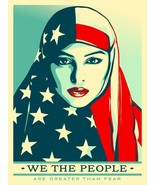 "Trump Protest Poster We The People American Art Deco Print 13x20"" 24x36"" 32x48"" - $11.87"