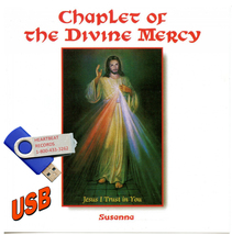 CHAPLET OF THE DIVINE MERCY with Susanna - USB