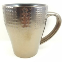 Mikasa Verona Mug Metallic Brown Stoneware 13 oz Gourmet Basics - $12.64