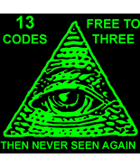 2 LEFT!! FREE W MYSTICAL TREASURES- FIRST 3 TO CLAIM!! 13 ADVANCED CODES MAGICK - Freebie
