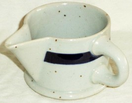 Dansk Creamer Pitcher Blue Mist Refsgaard Blue Stripe Made in Japan - $19.03