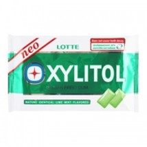 Lotte Xylitol Chewing Gum Lime Mint Flavour 11.6 G Pack of 6. - $17.64