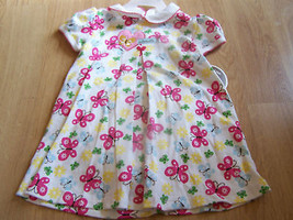 Size 18 Months Child of Mine Carters White Butterfly Dress & Bloomers New - $12.00