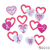 Pink Awareness Ribbon Shirt Clips - $16.61
