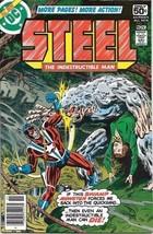 Steel The Indestructible Man Comic Book #5 DC Comics 1978 FINE+ - $3.50