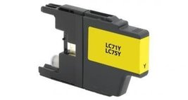 Brother LC75 Ink Yellow, LC71Y / LC75Y - $13.69