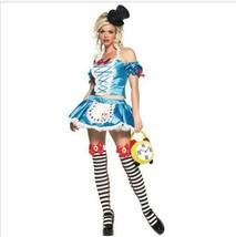 Women's Sexy Alice In Wonderland Fairy Tale Princess Halloween Costume - $17.47