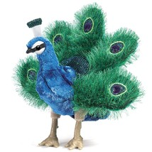 Folkmanis Small Peacock Hand Puppet - $29.97