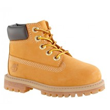 """TIMBERLAND 6-INCH PREMIUM BOOTS """"WHEAT"""" TODDLERS US SIZE 4 STYLE# 12809 - $64.34"""