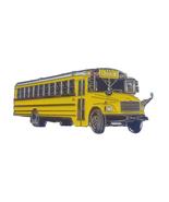 Thomas FS-65 school bus Lapel Pin - $3.75
