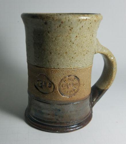 VTG 1987 Bradley U. Duet Interp. 3rd place - Flagg Pottery, Chillicothe, IL Mug