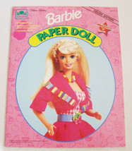 Barbie Paper Doll Deluxe Edition ~ 1991 ~ Golden Books #2371 ~ NEW Uncut - $9.65