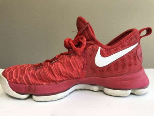 Nike Zoom Youth Size 6.5Y Kevin Durant KD9 (GS) 855908-611 Basketball Shoes