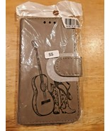 Country music guitar, boots, hat, Samsung Galaxy S5  Flip Cell Phone Case   - $13.85