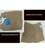 Snake Eyes Players Shorts Beige Sz 32 NWT - $16.99