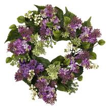 "20"" Hanel Lilac Wreath - $71.23"