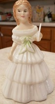 Royal Doulton Miniature Julie HN2995 Modelled By Robert Tabbenor 1984 En... - $51.43