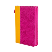 Pink 'Bloom Where God Plants You' Zippered Journal - $24.74