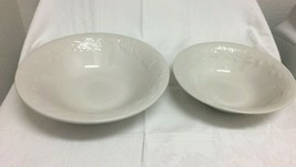 2-Piece Gibson Serving Bowl Set, Ivory - $11.87