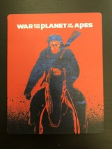 War For The Planet of The Apes Limited Edition Steelbook [Blu-ray + DVD]