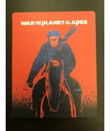 War For The Planet of The Apes Limited Edition Steelbook [Blu-ray + DVD]  - $12.95