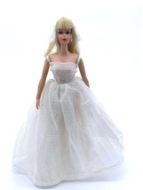 Vtg 1968 Taiwan Barbie Blond TNT Twist 'N Turn Live Action Barbie Rooted Lashes - $82.26