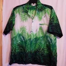 Vintage Helenas Hawaiian Aloha Shirt 2XL style 102 Tropical Made in Hawaii  - $58.65