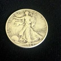 1942 Silver Walking Liberty Half Dollar - $14.36