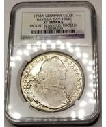 1765-A German States Bavaria 1 Thaler World Silver Coin NGC XF Details - €160,79 EUR
