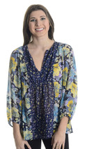New S Joie Thistle Dark Navy Floral Print 100% ... - $99.79