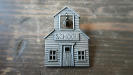"""Vintage JJ School House Brooch 2"""" - $19.79"""