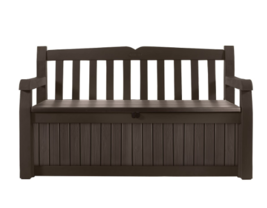 Outdoor Storage Container Waterproof Deck Box Large Patio Bench Seat All... - $154.32