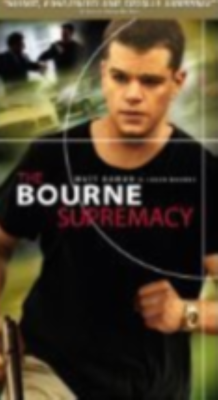 The Bourne Supremacy Vhs
