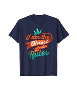 Brother Shirts - Cool I Am The Oldest I Make The Rules For Brothers & Si... - $19.95+