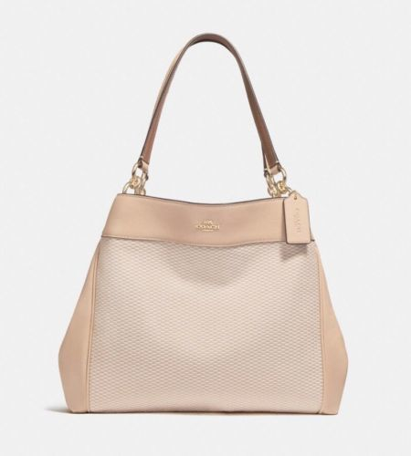 Coach Lexy Leather Shoulder Bag MSRP $375 NWT