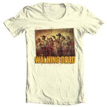 The Walking Dead T-shirt Season 1 TV show zombie horror 100% cotton graphic tee image 1