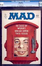 Mad Magazine #167-CGC 9.6-ALFRED E. NEWMAN-NORMAN MINGO- 0229608001 - $212.19