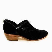 Vince Camuto Womens Comfort Block Heels Shoes Black Zipper Split Toe 7 M - $20.77